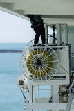 Underhåll för kryssningskepp Royaltyfri Fotografi