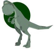underhållande dinosaur Arkivbild