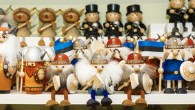Underhållande nationella souvenir från Estland Royaltyfria Bilder