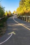 Underhållen mång--bruk slinga i Edmonton, Albereta Arkivbilder