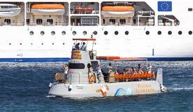 Underhållningfartyg royaltyfri fotografi
