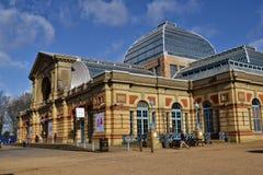 Underhållningmötesplats Alexandra Palace Arkivfoto