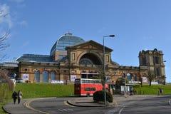 Underhållningmötesplats Alexandra Palace London Arkivbilder