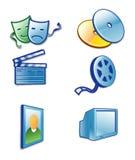 underhållningsymbol Arkivfoton