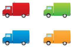 underhållslastbilar Arkivfoto