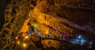 Underjordisk bro royaltyfri fotografi
