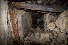 Underjordisk bunker royaltyfri fotografi