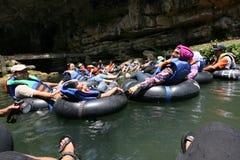 Underjordisk flod Arkivbild