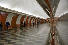 Underjordisk gångtunnel Arkivbilder