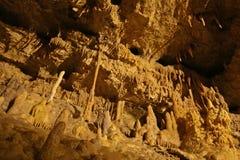 Underjordisk grottaInterior Royaltyfria Bilder