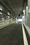 Underjordisk parkering Arkivbilder