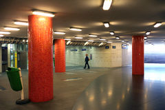 Underjordisk passage Budapest Arkivfoton