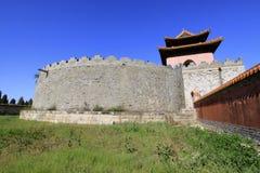 Underjordisk slott av den ZhaoXi gravvalvet i de östliga kungliga gravvalven Fotografering för Bildbyråer