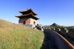 Underjordisk slott av den ZhaoXi gravvalvet i de östliga kungliga gravvalven Arkivfoto
