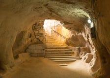 Underjordisk stad royaltyfri bild