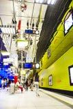 Underjordisk station - Munich, Tyskland - 20 12 2015 Fotografering för Bildbyråer