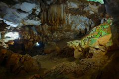 underjordiska grottor Arkivfoton