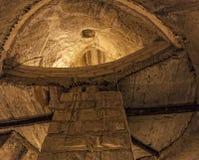 Underjordiska Valletta Arkivbild