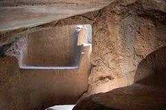 Underjordiskt förändra sig Fotografering för Bildbyråer