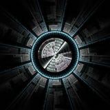 underkantspaceship Arkivbilder