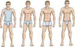 underkläder vektor illustrationer