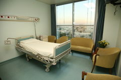 underlagsovrumsjukhus Arkivfoto