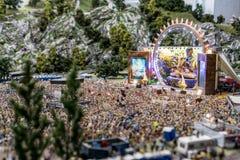 Underland - cirkus och festival arkivfoto