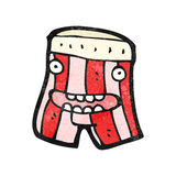 Underpants cartoon character Royalty Free Stock Image