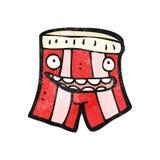 Underpants cartoon character Royalty Free Stock Photography
