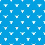 Underpants classic pattern vector seamless blue. Repeat for any use Royalty Free Stock Image