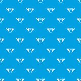 Underpants girl pattern vector seamless blue. Repeat for any use Royalty Free Stock Photo