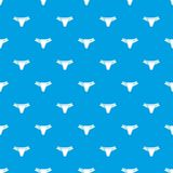 Underpants pattern vector seamless blue. Repeat for any use Royalty Free Stock Photography