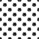 Underpants retro icon, simple black style. Underpants retro icon. Simple illustration of underpants retro vector icon for web Stock Photo