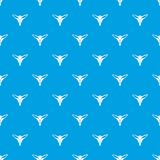 Underpants string pattern vector seamless blue. Repeat for any use Royalty Free Stock Photography