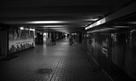 Underpass. In the city of Kiev in the center Royalty Free Stock Photography