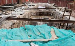 Underpass construction site Stock Photos