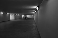 Underpass. Royalty Free Stock Photo