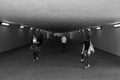 Underpass. Royalty Free Stock Photos