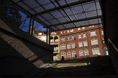 Underpass, Katowice Royalty Free Stock Photography