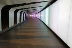 Underpass. At Kings Cross train station in London Stock Photo
