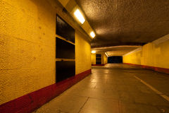 Underpass at night Stock Photography