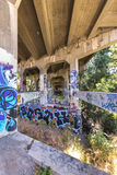 Underpass transgressions Royalty Free Stock Image