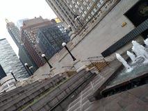 Undersökande Chicago Arkivfoto