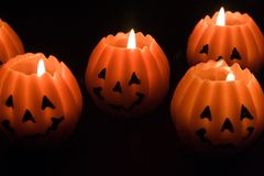 undersöker halloween royaltyfri foto