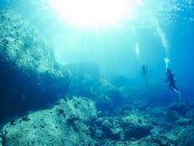 undersea Стоковое Изображение RF