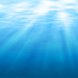 Undersea light Royalty Free Stock Photo