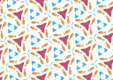 Undersea world pattern Royalty Free Stock Images