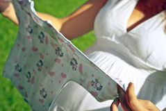 Undershirt ενός μωρού στοκ εικόνα με δικαίωμα ελεύθερης χρήσης