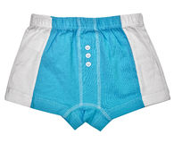 Undershorts - Grey and blue. Colors isolated on white background Stock Images