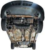 Undersida botten, bilbil som isoleras Royaltyfria Bilder